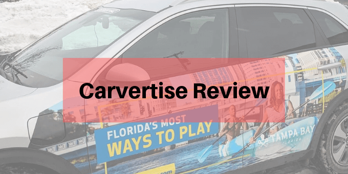 Carvertise Review: Get Paid To Advertise or A Scam? - My